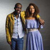 Taís Araújo relembra início com o marido, Lázaro Ramos: 'Repassou presente'
