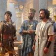 Daniel (Gabriel Gracindo) se tornou governador da Babilônia após desvendar sonho de Nabucodonosor (Heitor Martinez), na novela 'O Rico e Lázaro'