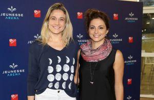 Fernanda Gentil, ao lado da namorada, janta com mãe e sogra: 'Noite divertida'