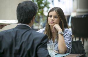 Camila Queiroz avalia relação de Eric e Luiza na novela 'Pega Pega': 'Um drama'
