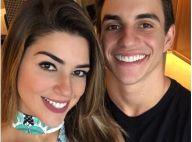 Ex-BBB Vivian e o namorado, Manoel, fazem teste de afinidade: 'Quer tortada?'