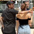 Bruna Marquezine e Neymar foram fotografados em momento de intimidade no Six Flags Magic Mountain, em Los Angeles, na Califórnia, especializado em montanhas-russas, nesta quinta-feira, 8 de junho de 2017