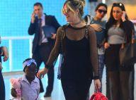 Títi, filha de Giovanna Ewbank, usa look estiloso para viajar com a mãe. Fotos!