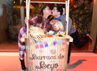 Sabrina Sato beija Duda Nagle em arraial que celebrou 3 anos do seu programa