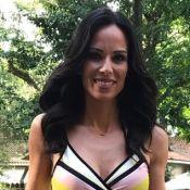 Ana Furtado chama a atenção por look decotado no 'É de Casa': 'Cores vivas'