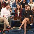Murilo Benicio e Débora Falabella começaram a se aproximar em 2012, nos bastidores das gravações de 'Avenida Brasil'