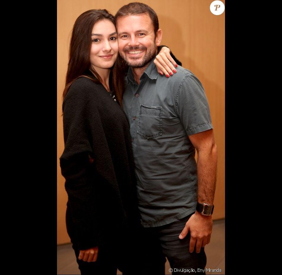 Marina Moschen o namorado, Daniel Nigri, completam 5 anos de namoro no dia 28 de outubro de 2017