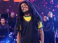 Ícaro Silva chora após interpretar Bob Marley na TV:'Estamos precisando de amor'