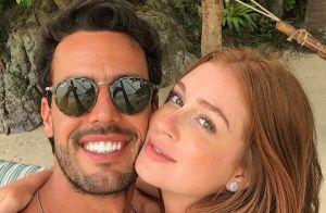 Marina Ruy Barbosa se declara para noivo, Xandinho Negrão: 'Amo cada dia mais'