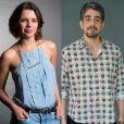 Por quatro anos, Bruna Linzmeyer viveu um relacionamento com o ator Michel Melamed