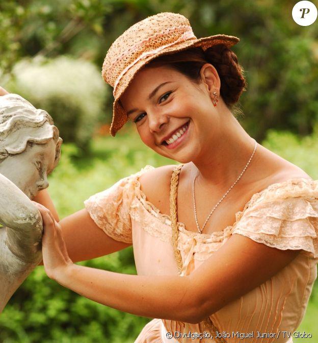 Mirna (Fernanda Souza) da novela 'Alma Gêmea' representa o signo de câncer