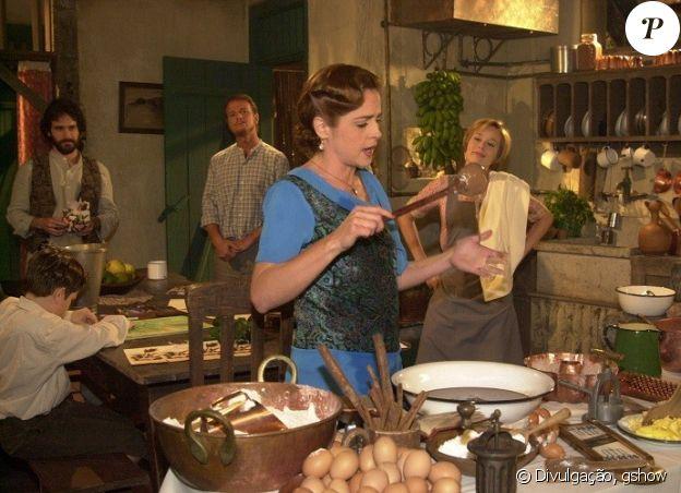 A personagem Márcia (Drica Moraes) da novela 'Chocolate com Pimenta' representa o signo de capricórnio