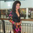'Minha preocupação é não engordar mais do que o saudável, mas o engordar da gravidez não me preocupa', diz Juliana Alves, à espera da menina Iolanda