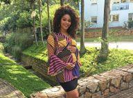Aos 5 meses, Juliana Alves não teme engordar na gravidez: 'Tenho tendência'
