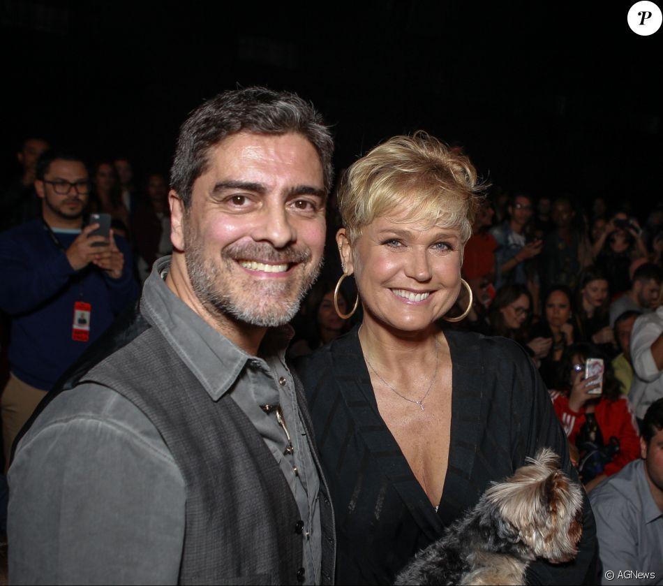 Xuxa entregou a intimidade com o namorado, Junno Andrade, e disse que ama 'fazer amor com ele'