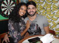 Grávida, Aline Dias diz que namorado fala com sua barriga e entrega:'Faz planos'