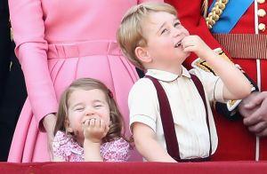 Princesa Charlotte faz caras e bocas e rouba a cena em evento real. Fotos!