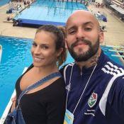 Maíra Charken revela nome do primeiro filho em vídeo na web: 'Gael'