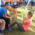 ' Feliz de voltar a correr e me sentir tão bem', disse Bruno Gagliasso em seu Instagram
