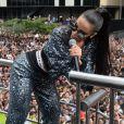 Anitta desfez mal-entendi em seu perfil do Instagram, na tarde deste domingo, 18 de junho de 2017