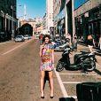 A modelo Mariana Goldfarb tem compartilhado alguns momentos em Milão, na Itália, com fotos no Instagram