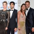 Grazi Massafera, Patrick Bulus, Mariana Goldfarb e Cauã Reymond estão na Itália para a Semana de Moda de Milão