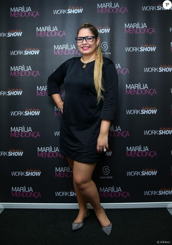 Marília Mendonça, oito quilos mais magra, saiu da dieta nesta segunda-feira, 19 de junho de 2017