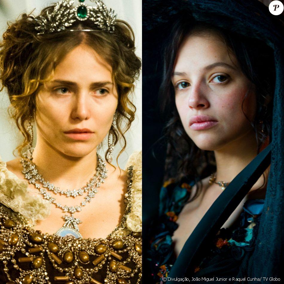Um embate entre Leopoldina (Letícia Colin) e Domitila (Agatha Moreira) acontece em 1º de julho de 2017, na novela 'Novo Mundo'