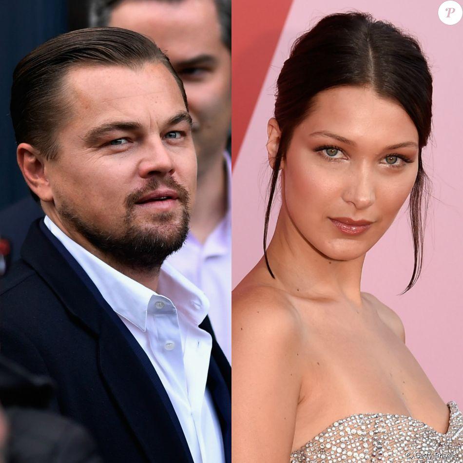 Leonardo DiCaprio manda flores e lingerie para Bella Hadid, mas leva toco da modelo, de acordo com imprensa internacional nesta segunda-feira, dia 19 de junho de 2017