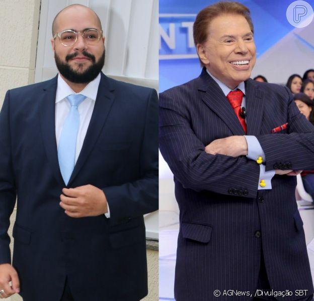 Tiago Abravanel, apresentador do bastidor do 'PopStar', brincou ao falar do avô, Silvio Santos: 'Tenho certeza que domingo meio-dia ele vai estar assistindo a Globo'