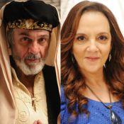 Novela 'O Rico e Lázaro': Fassur evita Elga (Denise Del Vecchio) após casamento