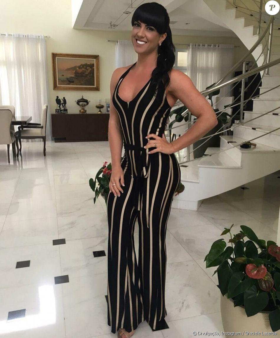 Graciele Lacerda, noiva de Zezé Di Camargo, muda dieta e treinos como contou em entrevista exclusiva ao Purepeople nesta terça-feira, dia 20 de junho de 2017