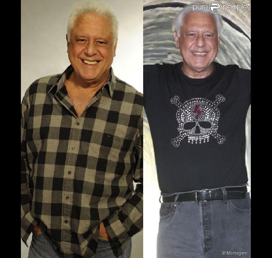 Antonio Fagundes emagrece 12kg e aposta em visual mais estiloso aos 64 anos