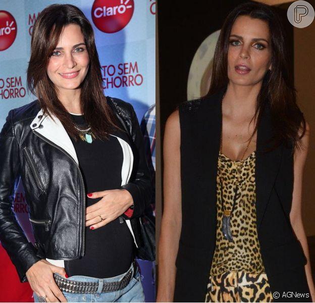 Fernanda Motta exibiu visual 10 quilos mais magra na SPFW (31 de março de 2014)