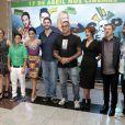 Anitta e elenco de 'Copa de Elite' na pré-estreia do filme em São Paulo