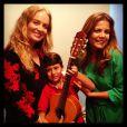 Nivea Stelmann posa com Angélica e o filho Miguel, de 9 anos