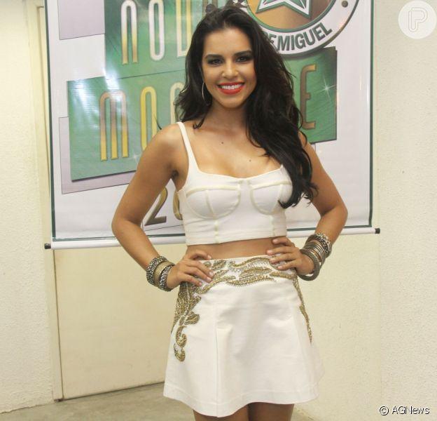 Mariana Rios pode deixar o posto de rainha de bateria da Mocidade
