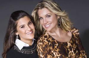 Flávia Alessandra posa para campanha de Dia das Mães ao lado da filha, Giulia