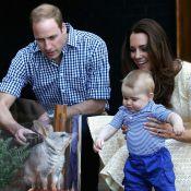 Filho de Kate Middleton e William se encanta com bilby em zoológico da Austrália