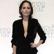 Amanda de Godoi ousa no decote ao lançar a novela 'Tempo de Amar': 'Empoderada'