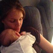 Ana Hickmann volta ao trabalho e estoca leite materno: 'O moleque mama muito'