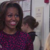 Michelle Obama faz participação e fecha temporada de 'Parks and Recreation'