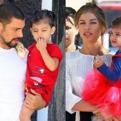 A cara do pai: Cauã Reymond se divide com Grazi Massafera nos cuidados de Sofia