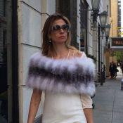 Luciana Gimenez leva filho para cerimônia em homenagem à namorada de Mick Jagger