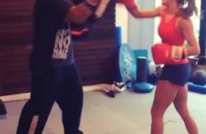Deborah Secco mostra segredo para manter boa forma em treino de Muay Thai