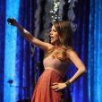 Sandy fez último show antes da licença-maternidade no dia 23 de maio de 2014