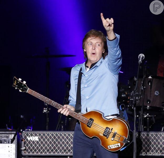 Paul McCartney apresenta melhoras após contrair virose: 'Ele vai ter recuperação total', diz a assessoria do músico (23 de maio de 2014)