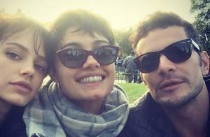 Sophie Charlotte e Daniel de Oliveira começam namoro nos bastidores de 'O Rebu'