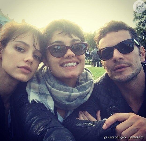 Sophie Charlotte e Daniel de Oliveira começaram a namorar nos bastidores das gravações de 'O Rebu', que estreia em 14 de julho de 2014