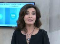 Fátima Bernardes fala de erro com microfone em entrevista com Felipão: 'Esqueci'